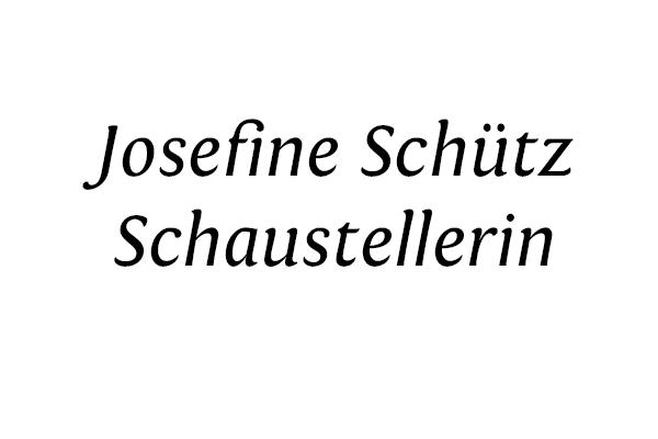 Schaustellerin Josefine Schütz